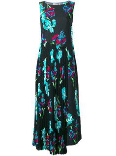 асимметричное платье с цветочным принтом  Diane Von Furstenberg