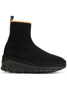 ботинки без застежки Kenzo