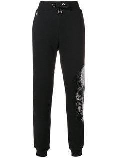 спортивные брюки с черепом  Philipp Plein