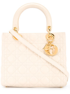 сумка-тоут Lady Dior Cannage Christian Dior Vintage