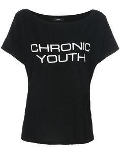 футболка Chronic Youth Diesel