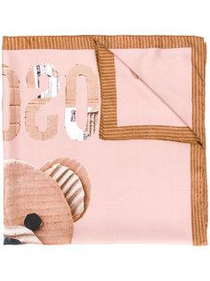 шарф с медведем Moschino