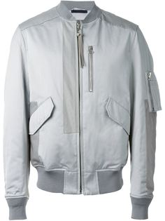 атласная куртка-бомбер  Lanvin