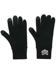 перчатки с аппликацией тигра Kenzo