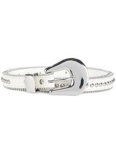 ремень с заклепками B-Low The Belt
