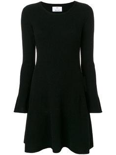 платье с рукавами клеш  Allude