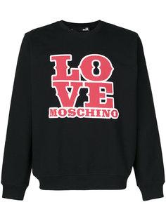 logo sweatshirt Love Moschino