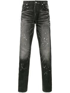 джинсы кроя слим Paint Splatter Uniform Experiment