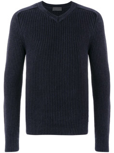 ribbed V-neck pullover Iris Von Arnim