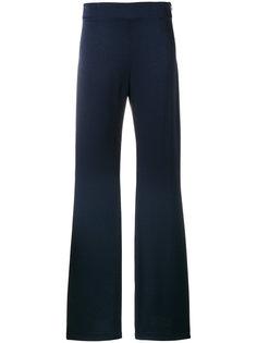 расклешенные брюки с высокой талией Galvan