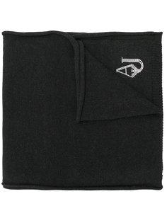 шарф с логотипом Armani Jeans