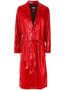 длинное пальто  MSGM