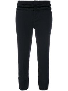 укороченные брюки с оборками  Dsquared2