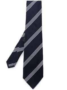 галстук в диагональную полоску Etro