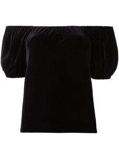 Velour puffy sleeve T-shirt G.V.G.V.