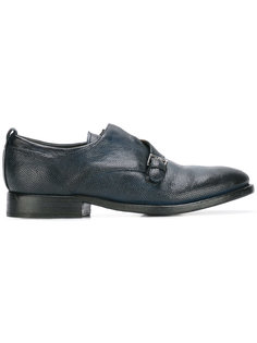 туфли-монки с ремешком на пряжке Sartori Gold