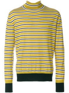 полосатый свитер с высоким горлом Marni