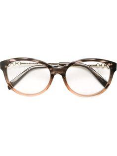оптические очки в круглой оправе Emilio Pucci