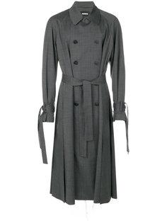long trench coat Moohong