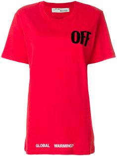 футболка Global Warming Off-White