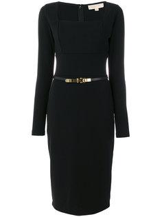 платье с поясом на талии Michael Michael Kors
