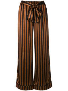 полосатые широкие брюки Gold Hawk