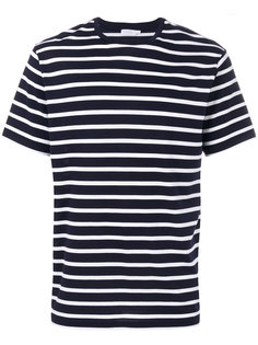 striped T-shirt  Sunspel