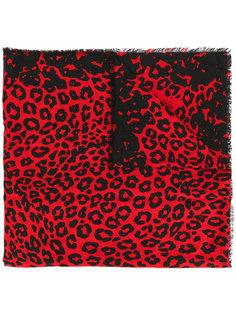 шарф с леопардовым принтом Marc Jacobs