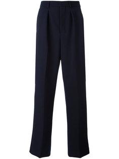 широкие брюки с бантовыми складками Ami Alexandre Mattiussi