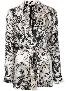 пижамный пиджак с принтом Gold Hawk