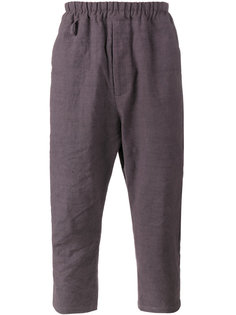 брюки Morton с заниженным шаговым швом By Walid