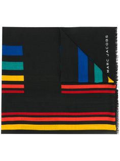 шарф в полоску Marc Jacobs