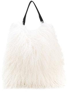 сумка-тоут из овчины Xiao Jil Sander