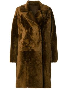 shearling coat Drome