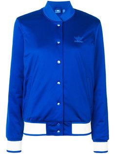 куртка-бомбер с отделкой  Adidas Originals