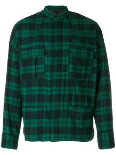 куртка-рубашка в клетку Haider Ackermann