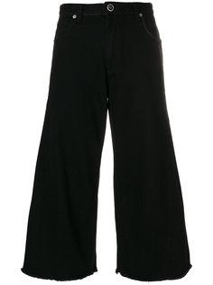 укороченные широкие брюки клеш  Sonia Rykiel