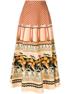 Foxglove printed midi skirt  Temperley London