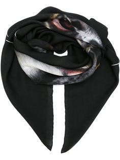 платок с принтом бабуинов Givenchy