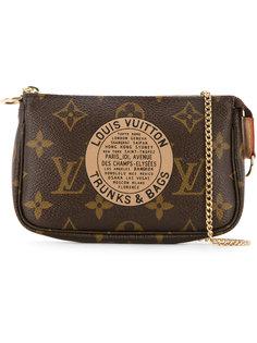 мини сумка Pochette с монограммой Louis Vuitton Vintage