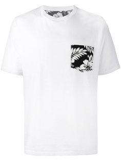 футболка с цветочным принтом Uniform Experiment