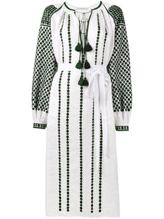 платье-туника с вышивкой Dotted Vita Kin