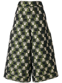 укороченные брюки с вышивкой  Ultràchic
