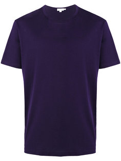 plain T-shirt Sunspel