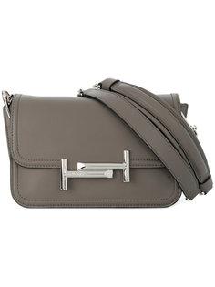 сумка на плечо с двойной деталью T Tods Tod`S