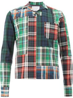 куртка-рубашка в клетку Kolor