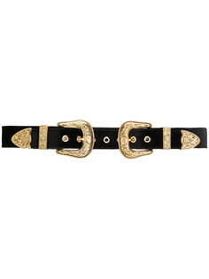ремень с двумя пряжками B-Low The Belt