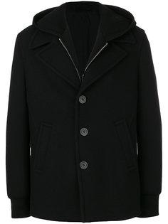 пальто с капюшоном Neil Barrett