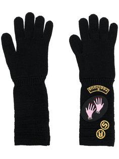 перчатки с нашивками Sonia Rykiel