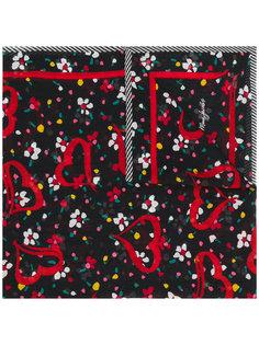 шарф с цветочным принтом Marc Jacobs